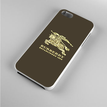 Burberry Logo Iphone 5s Case