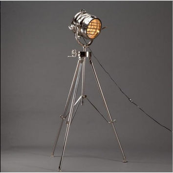 Industrial Floor Lamp full Aluminium Construction - Calypso