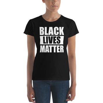 Black Lives Matter Premium Women's T-Shirt