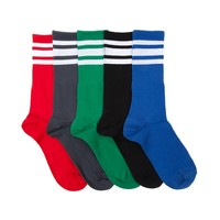 Tween Color Crew Socks