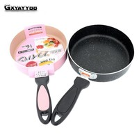 Japanese 18CM Nonstick Pan Non-stick Cookware Frying Pan Saucepan Small Fried Eggs Pot General Use for Gas and Induction Cooker