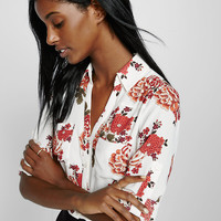 original fit long sleeve print portofino shirt