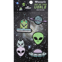 Loungefly Alien Iron-On Mini Patch Set