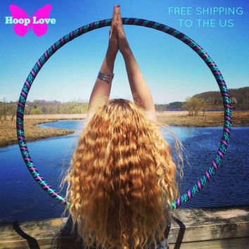 Collapsible / Mini Hula Hoop (s) - Water Goddess - FREE SHIPPING to the US
