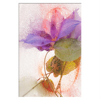 Large Botanical Fine Art Print WaterColor Paper. Floral Abstract Fine Art Photography. Unique Colorful Floral  Artwork, Wall Art Decor.