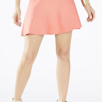 Pink BCBG Queeny Paneled Skirt
