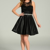 Sexy little black homecoming dress 101-7214