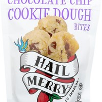 HAIL MERRY: Cookie Dough Merry Bites Chocolate Chip, 3.5 oz