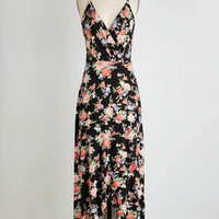 Boho Long Sleeveless A-line Got it Down Patio Dress by ModCloth