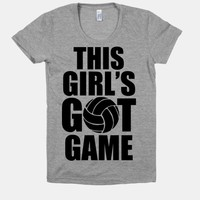 This Girl's Got Game (Volleyball)
