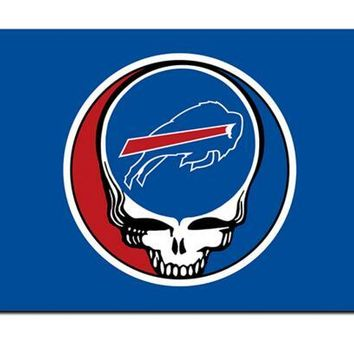 Buffalo Bills Stealing Your Face flag 90x150cm polyester Custom banner with 2 Metal Grommets 3x5ft