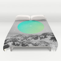 Middle Of Nowhere II Duvet Cover by Soaring Anchor Designs