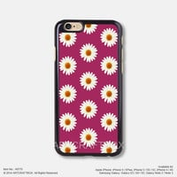 Daisy Flower Floral Raspberry iPhone 6 6Plus case iPhone 5s case iPhone 5C case iPhone 4 4S case 770