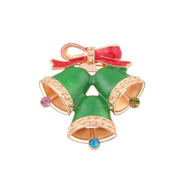 Christmas tree Brooch 2017 new style hot sell  3.8*4.2cm Size Nice accessories Wonderful gift for female friends #45
