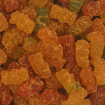 Chamoy Covered Fruity Gummy Bears - 2 Lb. Bag