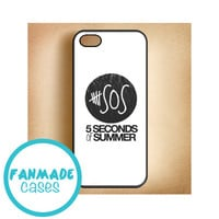5 Seconds of Summer (5sos) Logo iPhone 4/4s 5/5s/5c & iPod 4/5 Rubber Case