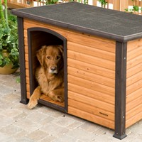 Precision Extreme Outback Log Cabin Dog House | www.hayneedle.com