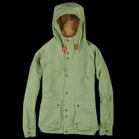 UNIONMADE - Mt. Rainier Design - Slant Pocket Mountain Parka in Light Green
