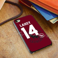 Teen Wolf LAHEY 14 Lacrosse Jersey - for iPhone 4/4s, iPhone 5/5S/5C, Samsung S3 i9300, Samsung S4 i9500 *ojoturuwaecok*