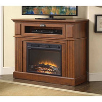 Media Fireplace TV Stand Combo