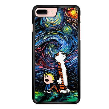 Van Gogh Calvin And Hobbes iPhone 7 Plus Case