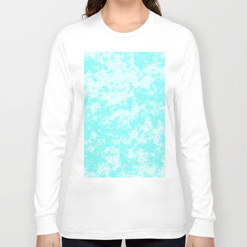 Cloudy Skies - Pattern Long Sleeve T-shirt by Moonshine Paradise