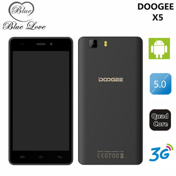 "Free Shipping!Original Doogee Valencia DG800 MTK6582 Quad core 1GB RAM 8GB ROM Cell Phone 4.5""  13.0MP Camera Android 4.4 WCDMA"