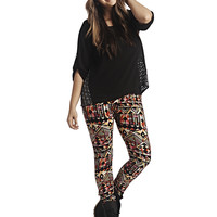 Geo Legging | Wet Seal+