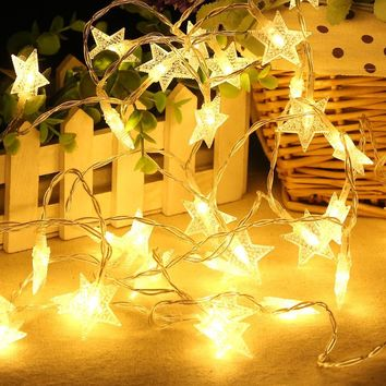 Stylish Colorful Bright Creative Decoration Christmas Lights [18778488852]