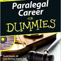 Paralegal Career For Dummies, For Dummies Series, Scott Hatch, (9780471799566). Paperback - Barnes & Noble