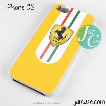 Yellow Ferrari Phone case for iPhone 4/4s/5/5c/5s/6/6 plus
