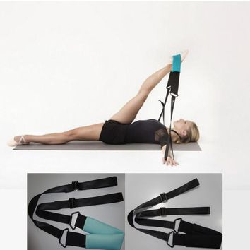 Hot sell Ballet Soft Opening Band Elastic Exercise Pull Up Strap Fitness Pilates Dance Training Yoga Stretching Resistance Band