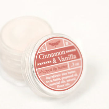 Whipped Lip Butter - Cinnamon & Vanilla - Natural Icing for Your Lips