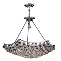 Taillefer - Hanging Fixture (12 Light Modern Hanging Crystal Chandelier) - 8332D26