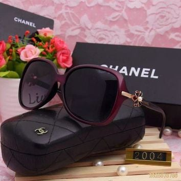 DCCKU62 Original Chanel Fashion New Design Polarized Lenses Sunglasses 2004 - 173