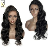 360 Lace Frontal Wig Pre Plucked Remy Brazilian Body Wave 360 Full End Lace Human Hair Wigs For Women 150 Density Bleached Knots