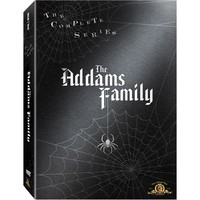 Walmart: Addams Family: The Complete Series [9 Discs] [Velvet-Touch Packaging]