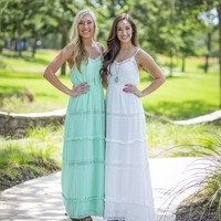Perfect Day Maxi - Ivory | Dresses | Kiki LaRue