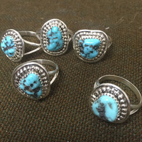 Turquoise Rock Ring