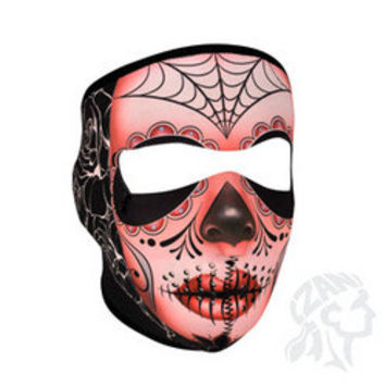Full Mask, Neoprene, Sugar Skull