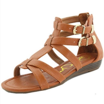Lauren Wedge Sandals