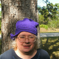 Handmade crocheted Flapper hat by CanadianCraftCritter on Etsy