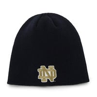 NCAA Notre Dame Fighting Irish '47 Beanie Knit Hat, Navy, One Size