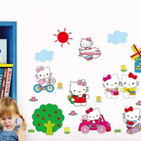 Hello Kitty - Wall Sticker Decal - SS619