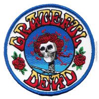 Grateful Dead - Skull & Roses Patch on Sale for $4.99 at HippieShop.com