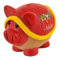 NCAA Maryland Terps Resin Large Thematic Piggy Bank