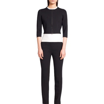 Narciso Rodriguez Black Cropped Cardigan - Black