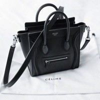 Céline Black Nano Bag