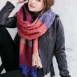 Femme Plaid Scarf - Urban Outfitters