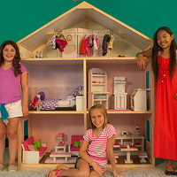 Country French Style Doll House   zulily